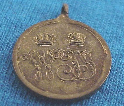 MINIATURE OF THE COMBATANT CAMPAIGN MEDAL 1864 DANISH-PRUSSIAN WAR - Imperial German Military Antiques Sale