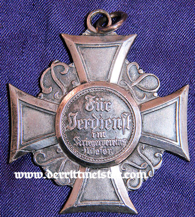 VETERANS' ASSOCIATION HONOR CROSS - PRUSSIA - Imperial German Military Antiques Sale