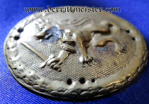 VETERAN'S TWENTY-FOUR-YEARS LONG-SERVICE SHIELD - BAVARIA - Imperial German Military Antiques Sale