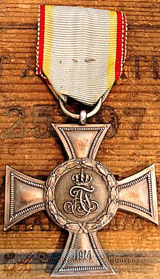 KREUZ für AUSZEICHNUNG IM KRIEGE 2nd CLASS - MECKLENBURG-STRELITZ - Imperial German Military Antiques Sale