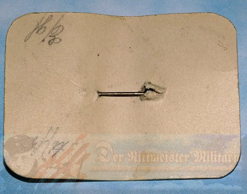 GERMANY - PATRIOTIC PIN  - ENAMELED IRON CROSS ON ORIGINAL SALES CARD - Imperial German Military Antiques Sale