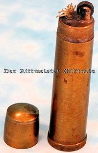 GERMANY - CIGARETTE LIGHTER - ARTILLERY SHELL REPLICA - Imperial German Military Antiques Sale