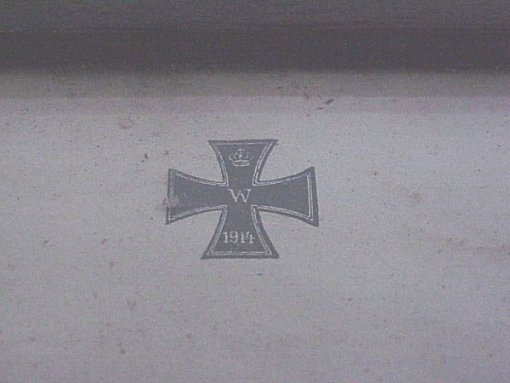 GERMANY - 1914 IRON CROSS 2nd CLASS DOCUMENT IN A FRAME - Imperial German Military Antiques Sale