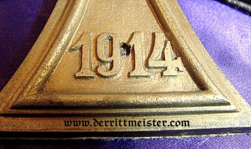 GERMANY - DESK PIECE - 1914 IRON CROSS - Imperial German Military Antiques Sale