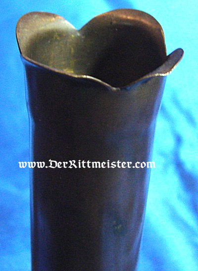 TRENCH ART FLOWER VASE - Imperial German Military Antiques Sale