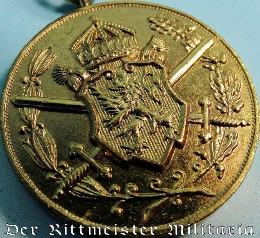 WW I BULGARIAN WAR SERVICE DECORATION - Imperial German Military Antiques Sale
