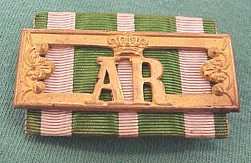 LANDWEHR LONG SERVICE AWARD 2nd CLASS WITH MINIATURE - SAXONY - Imperial German Military Antiques Sale