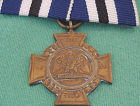 PRUSSIA - ALSEN CROSS - NON COMBATANT - 1864 DANISH-PRUSSIAN WAR - Imperial German Military Antiques Sale