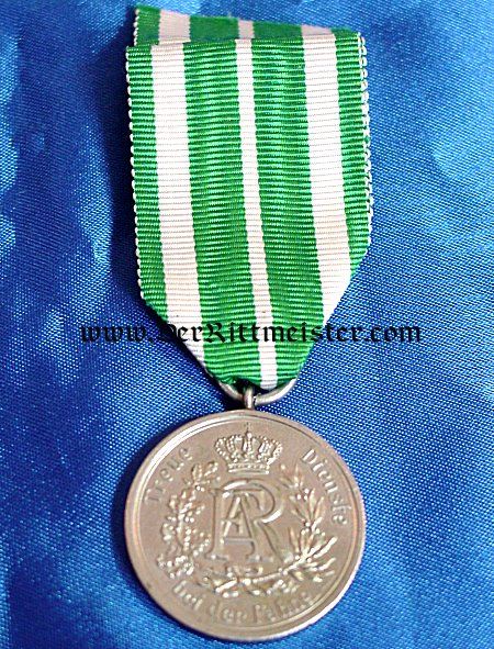 SAXONY - 9 YEAR LONG SERVICE AWARD - 3rd CLASS - Imperial German Military Antiques Sale