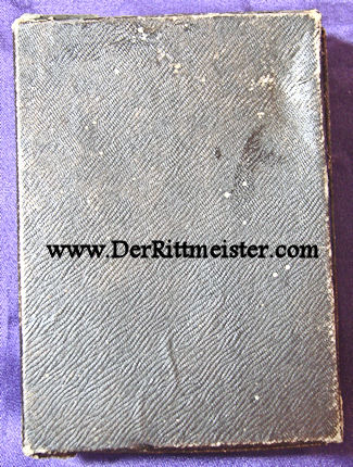 GERMANY - IRON CROSS - 1914 - 2nd CLASS - ORIGINAL PRESENTATION CASE - Imperial German Military Antiques Sale