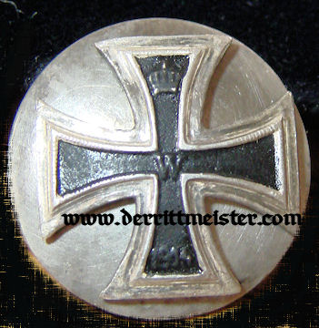 IRON CROSS - 1914 - 1st CLASS - MINIATURE  - THREE-PIECE SCREWBACK - Imperial German Military Antiques Sale