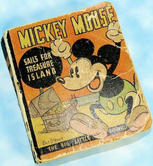 U.S. - BOOK - MICKEY MOUSE BOOK: MICKEY SAILS TO TREASURE ISLAND - Imperial German Military Antiques Sale