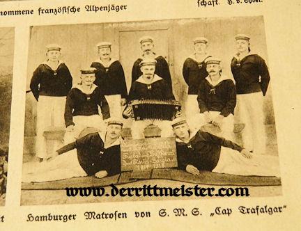 GERMANY - NEWSPAPER - DAS LEBEN IM BILD KRIEGSBILDER - Imperial German Military Antiques Sale
