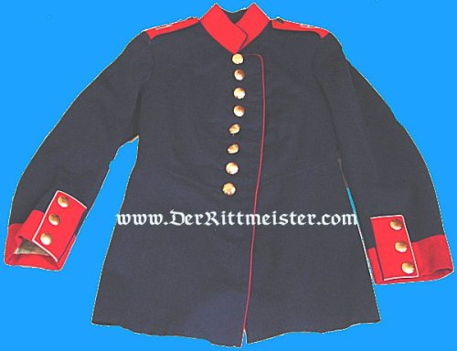 PRUSSIA - TUNIC - ENLISTED MAN - LANDWEHR DISTRICT Nr 61 - Imperial German Military Antiques Sale