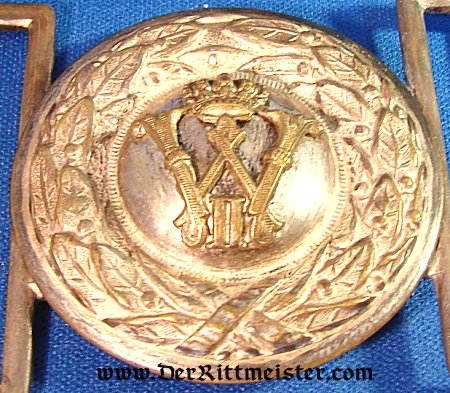 PRUSSIA - BELT BUCKLE - OFFICER - PIONEER - Imperial German Military Antiques Sale