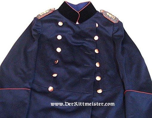 PRUSSIA - UBERROCK - MAJOR - FELDARTILLERIE-REGIMENT Nr 15 - Imperial German Military Antiques Sale