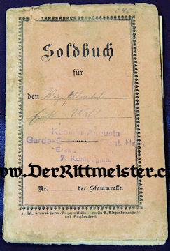 PRUSSIA - UNIFORM GROUP -  IDENTIFIED ENLISTED MAN - KÖNIGIN AUGUSTA GARDE-GRENADIER-REGIMENT Nr 4 - Imperial German Military Antiques Sale