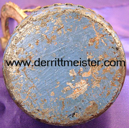 GERMANY - DESK PIECE - ARTILLERY SHELL FUZE - Imperial German Military Antiques Sale