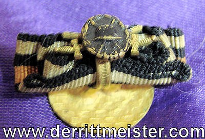 GERMANY - BOUTONNIERE - BLACK WOUND BADGE - MINIATURE - Imperial German Military Antiques Sale
