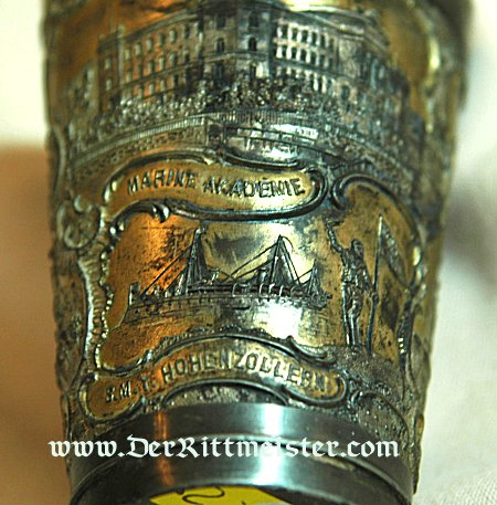 GERMANY - SMALL CUP HONORING THE NAVY AND KIEL - Imperial German Military Antiques Sale