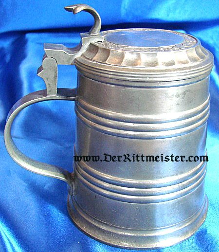 GERMANY - TANKARD - METAL - Imperial German Military Antiques Sale