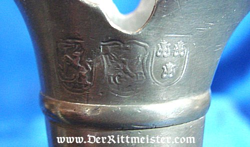 GERMANY - PITCHER - ONE-HANDLED - METAL - Imperial German Military Antiques Sale