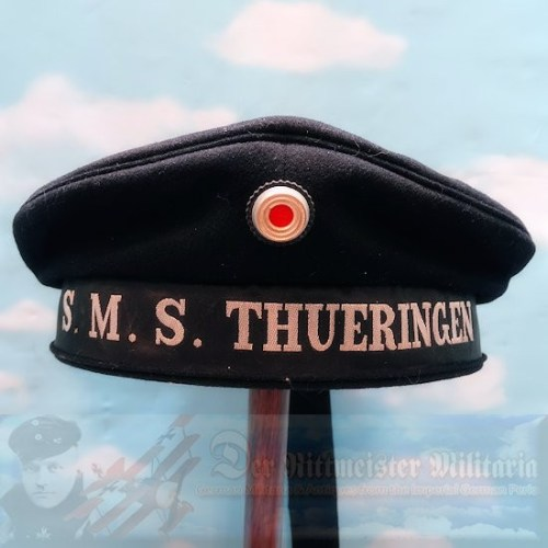 MÜTZE - ENLISTED SAILOR - S.M.S. THUERINGEN