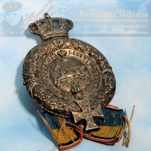 BRAUNSCHWEIG - BADGE -VETERAN ASSOCIATION - Imperial German Military Antiques Sale