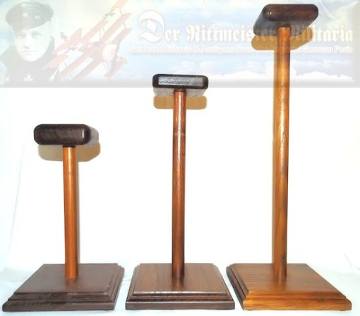 SMALL HELMET DISPLAY STAND - Imperial German Military Antiques Sale