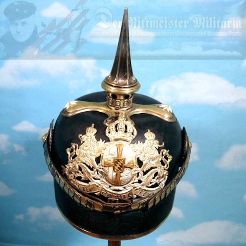 BAVARIA - PICKELHAUBE - RESERVE OFFICER - CHEVAULEGERS REGIMENT NRs 2, 4, 6, AND 8 - Imperial German Military Antiques Sale