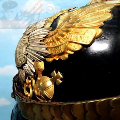 ANHALT - PICKELHAUBE - OFFICER - INFANTERIE-REGIMENT NR 93 - Imperial German Military Antiques Sale