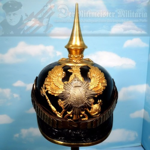ANHALT - PICKELHAUBE - OFFICER  - INFANTERIE-REGIMENT NR 93 - Imperial German Military Antiques Sale