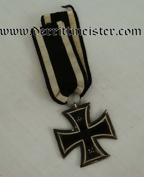 IRON CROSS - 1914 - 2nd CLASS WITH COMBATANT'S RIBBON