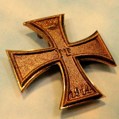 MECKLENBURG-SCHWERIN - 1914 MILITARY SERVICE CROSS 1st CLASS - PRIVATELY-PURCHASED - VAULTED - Imperial German Military Antiques Sale