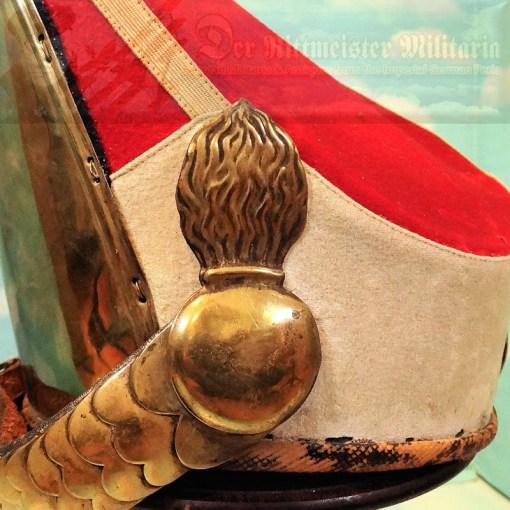 PRUSSIA - MITRE - RUSSIAN-STYLE - ENLISTED MAN - ERSTE GARDE REGIMENT ZU FUß BATAILLON NR I - KAISER ALEXANDER GARDE GRENADIER REGIMENT NR. 1 - Imperial German Military Antiques Sale