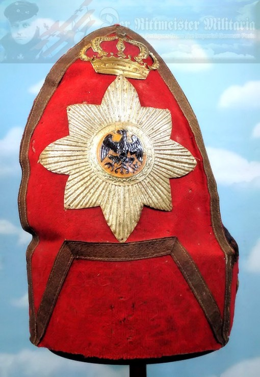 PRUSSIA - MITRE - 1900 CENTENNIAL FUND-RAISING EARLY 1700'S - Imperial German Military Antiques Sale