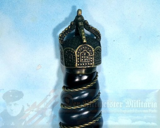 GERMANY - DAGGER - NAVY - OFFICER REICHSMARINE - WITH INITIAL STAMP - Imperial German Military Antiques Sale