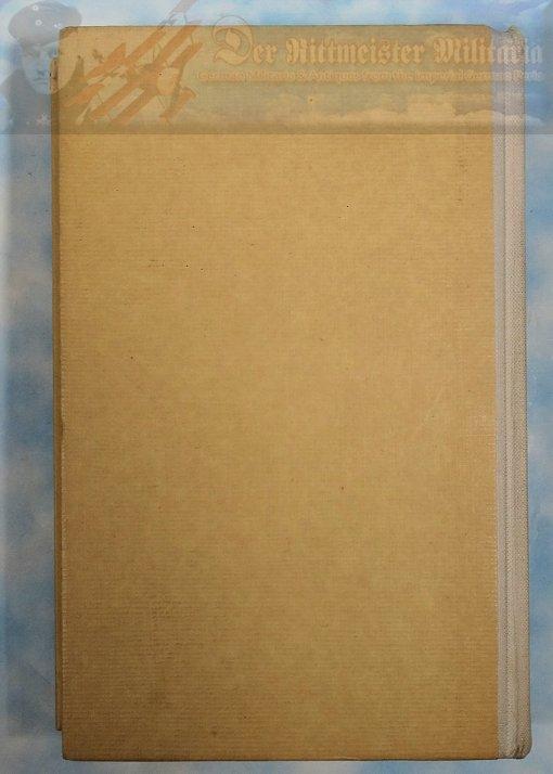 GERMANY -BOOK - FLIEGER AM FEIND - EINUNDSIEBZIG DEUTSCHE LUFTFAHRER ERZÄHLEN BY WERNER VON LANGSDORFF - Imperial German Military Antiques Sale