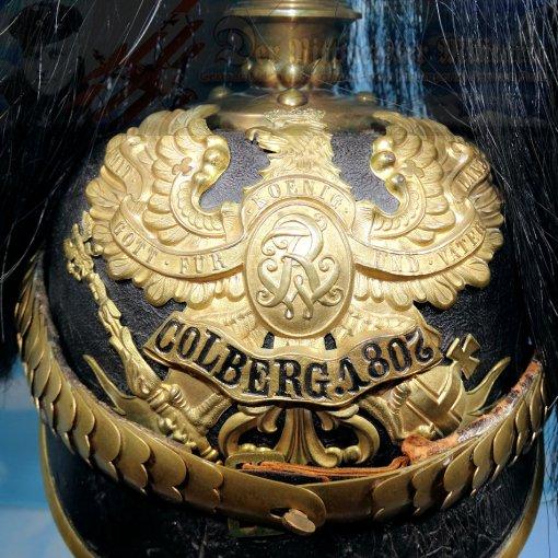 PRUSSIA - KUGELHELM - SENIOR NCO - PRE-1897 - FELDARTILLERIE-REGIMENT NR 2/FELDARTILLERIE-REGIMENT NR 3 PARADE - Imperial German Military Antiques Sale