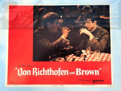 MOVIE THEATER CARD - VON RICHTHOFEN AND BROWN