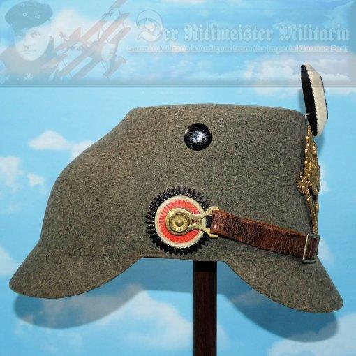PRUSSIA - TSCHAKO - JÄGER - ENLISTED MAN - ERSATZ - Imperial German Military Antiques Sale