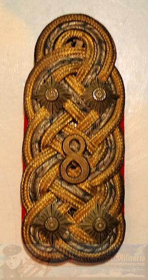 BAVARIA - SINGLE SHOULDER BOARD - GENERALOBERST IN THE RANK OF GENERALFELDMARSCHALL