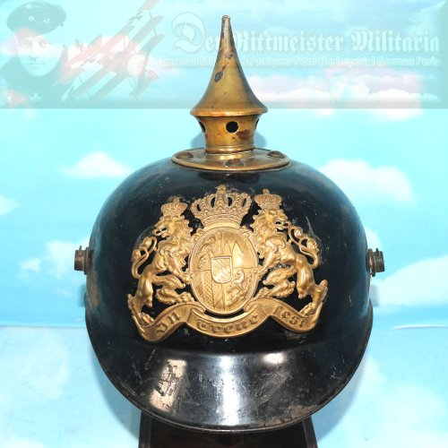 BAVARIA - PICKELHAUBE - ENLISTED MAN - METAL