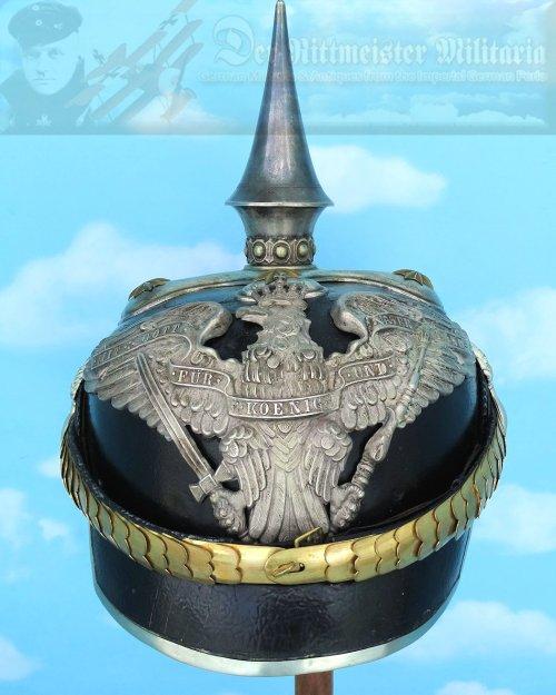 PRUSSIA - PICKELHAUBE - OFFICER - GRENADIER-REGIMENT ZU PFERDE VON DERFFLINGER (NEUMÄRKISCHES) NR 3