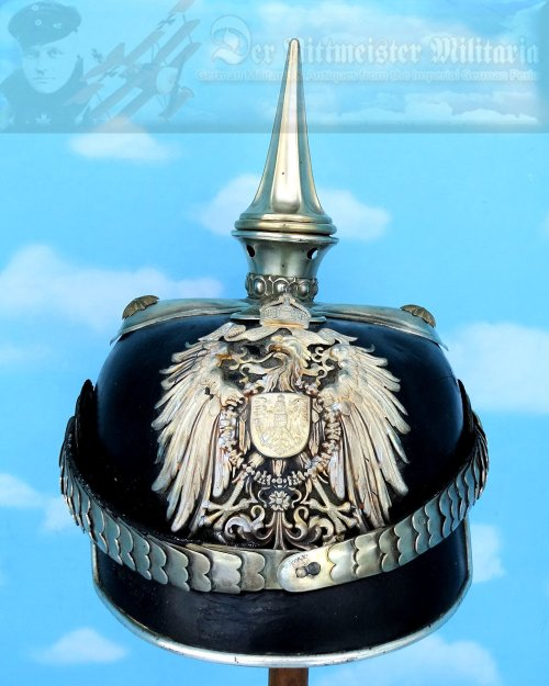 COLONIAL - PICKELHAUBE - GENERAL - BEAMTE
