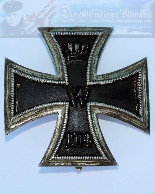 GERMANY - IRON CROSS - 1914 - 1st CLASS - SLIGHTLY VAULTED