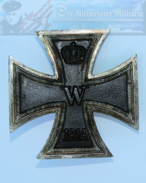 GERMANY - IRON CROSS - 1914 - 1st CLASS - NON VAULTED