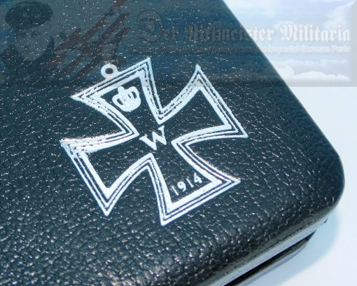 GERMANY - CASE - IRON CROSS - 1914 - 2ND CLASS - REPRODUCTION - Imperial German Military Antiques Sale