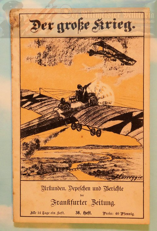 GERMANY - BOOK - DER GROßE KRIEG - Imperial German Military Antiques Sale