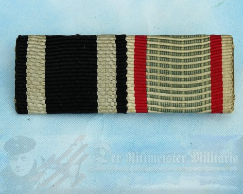 GERMANY - RIBBON BAR - TWO PLACE - HUNGARY WAR SERVICE